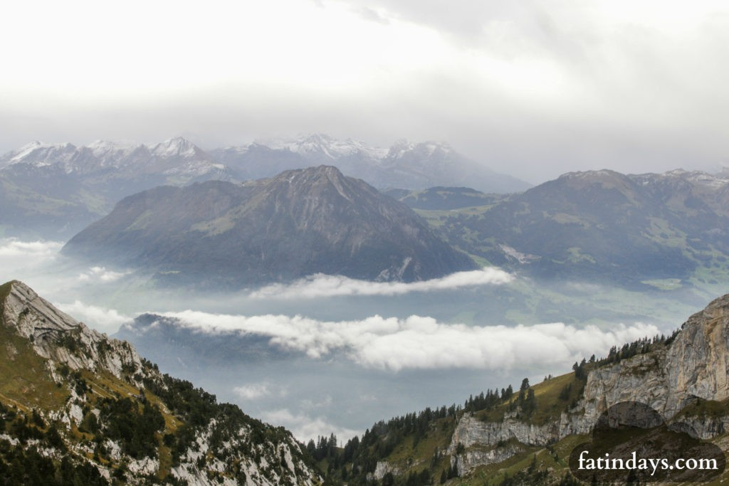 how high is mt pilatus lucerne