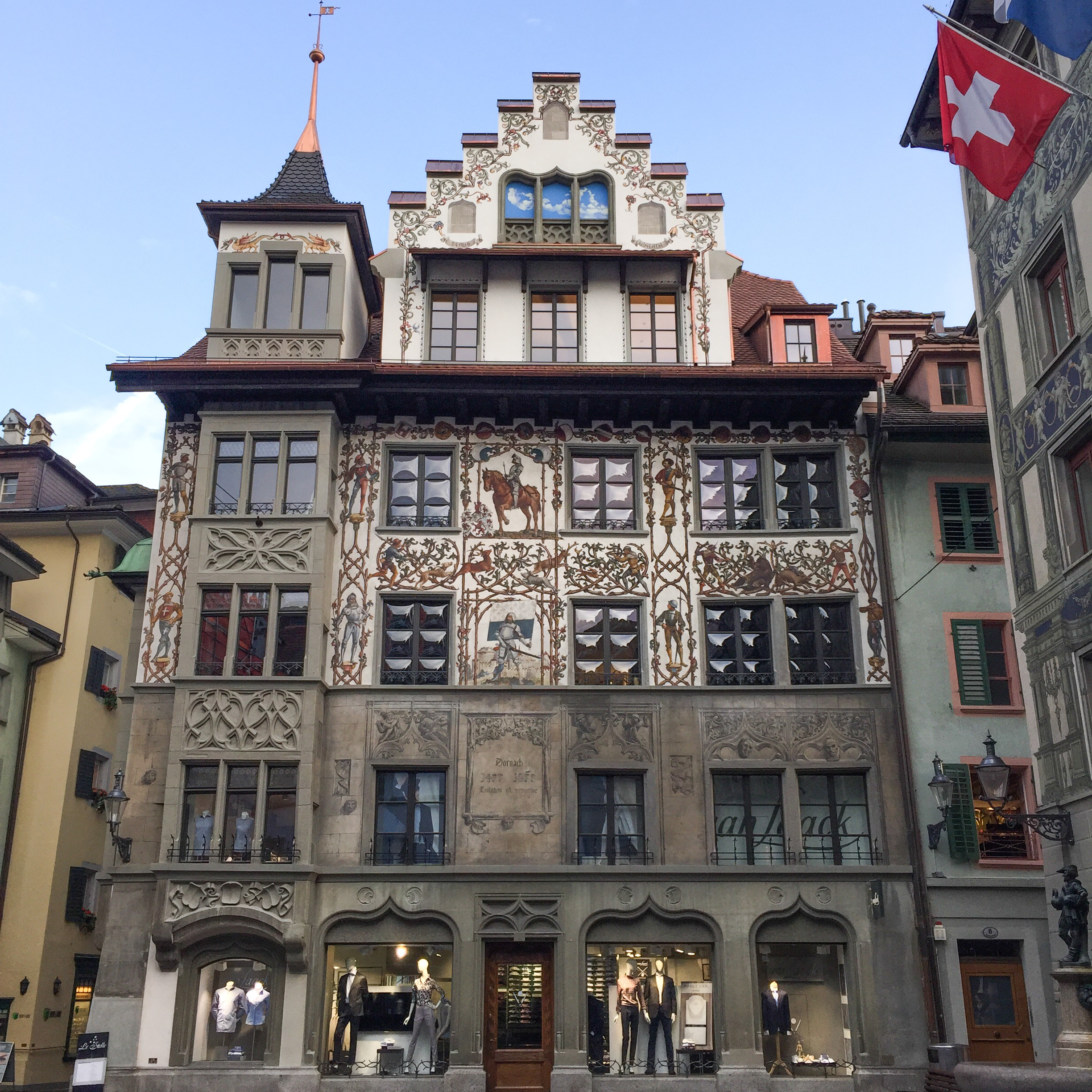 Lucerne what to do and see old town alstadt