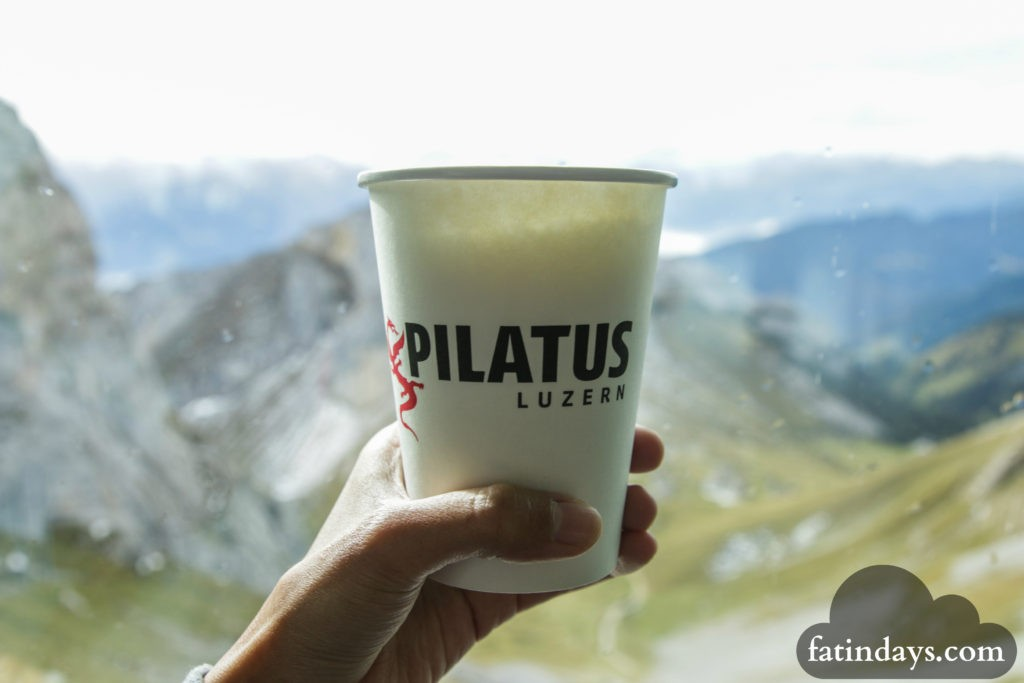 what to eat and drink at mt pilatus lucerne