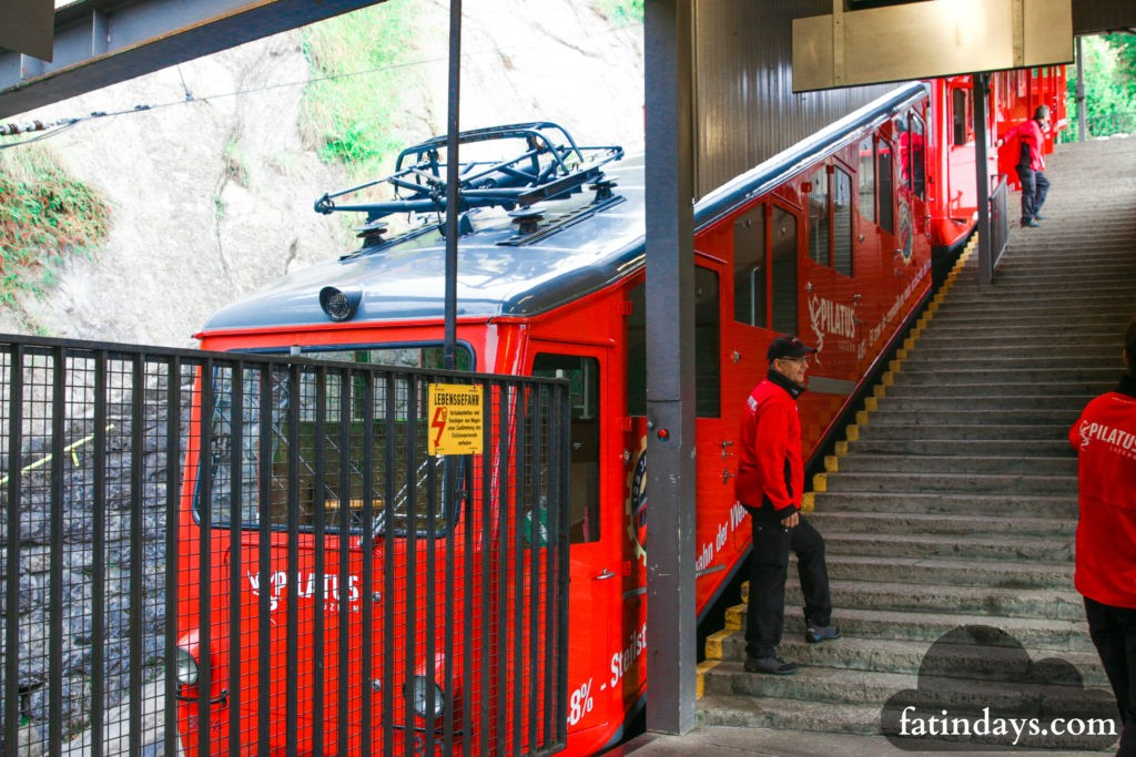 mt pilatus lucerne train cogwheel railway gondola ride