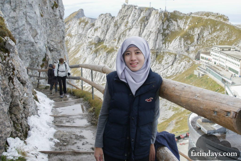 malaysian backpackers mt pilatus lucerne switzerland