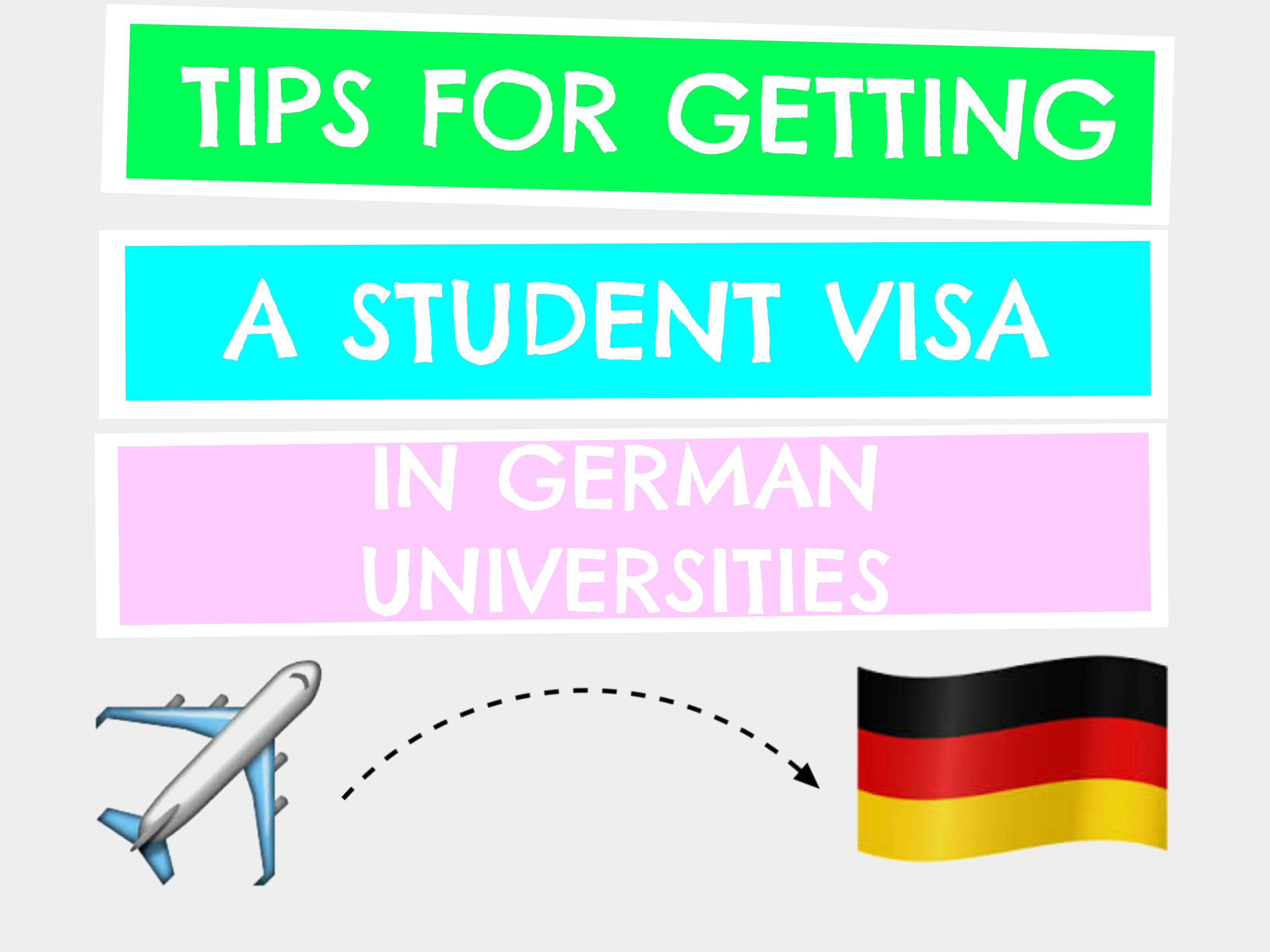 how to get student visa for germany