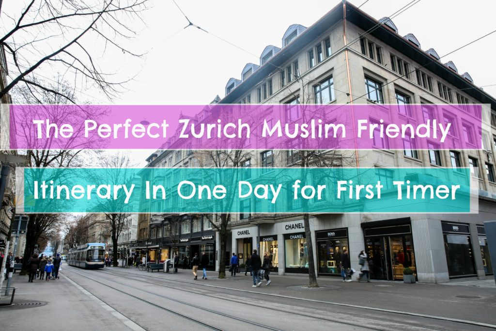 Zurich Switzerland One Day tour halal food