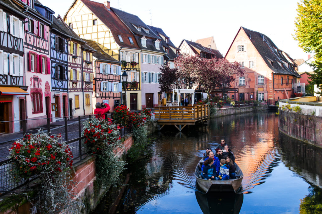 Colmar france boat ride