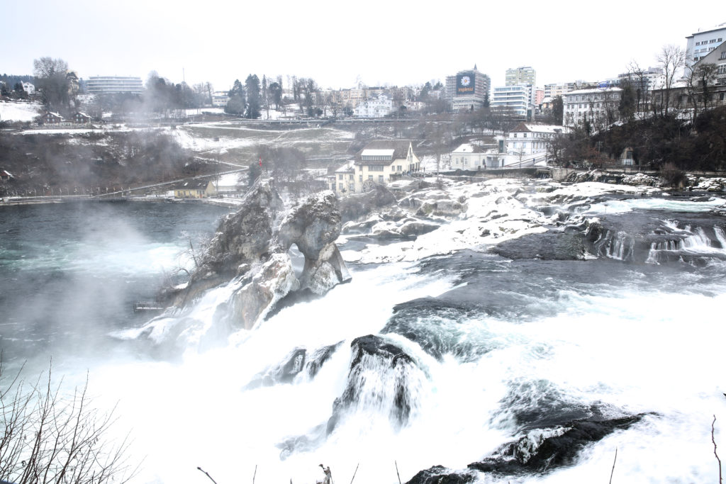 Rhine Falls best time to visit