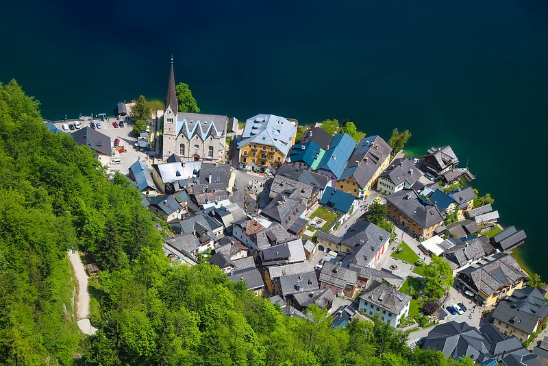 Hallstatt skywalk travel blog