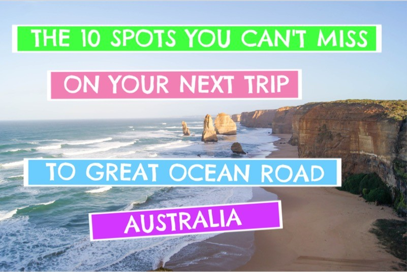 Great Ocean Road Trip Itinerary