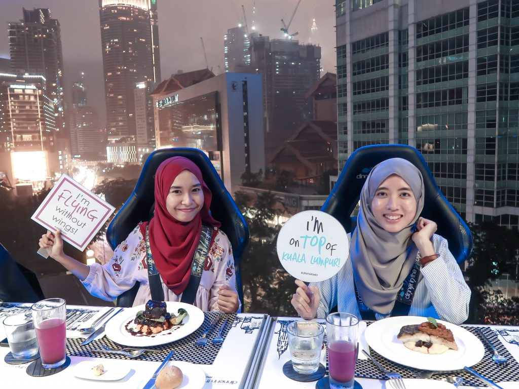 Dinner In The Sky Kuala Lumpur kl Malaysia Experience Review