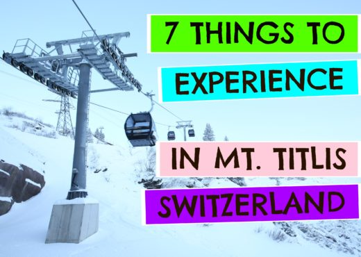 things to do in mount titlis switzerland