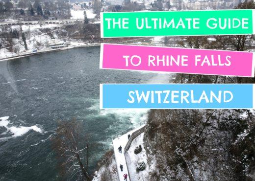 Rhine Falls which side